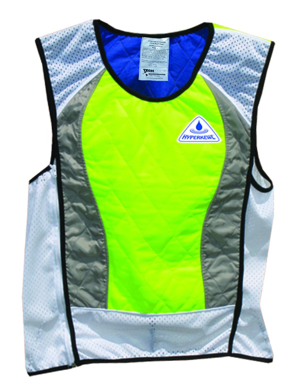 Evaporative Cooling Clothing : Sport cooling vest hyperkewl ultra big discount