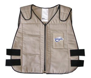 phase change dry cooling vests