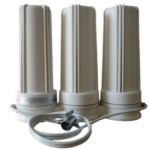 Countertop fluoride chlorine water filter