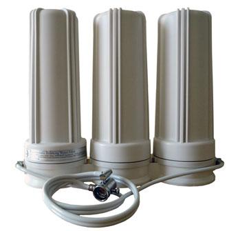 Countertop fluoride chlorine water filter