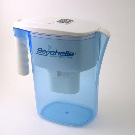Water Filter Pitcher for Fluoride. Radiation Plus