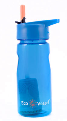 Aqua Vessel Ultra Lite Filtering Bottle - 17 oz  ON SALE