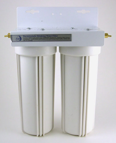 Undercounter Radiation Water Filter 2-canister