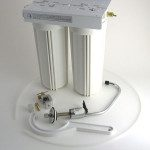 Radiation Undercounter Water Filter 2-canister