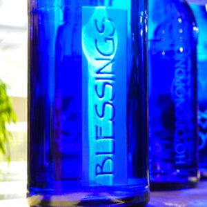 Blue Bottle Love Blessings liter