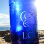 Blue Bottle Love Swirl