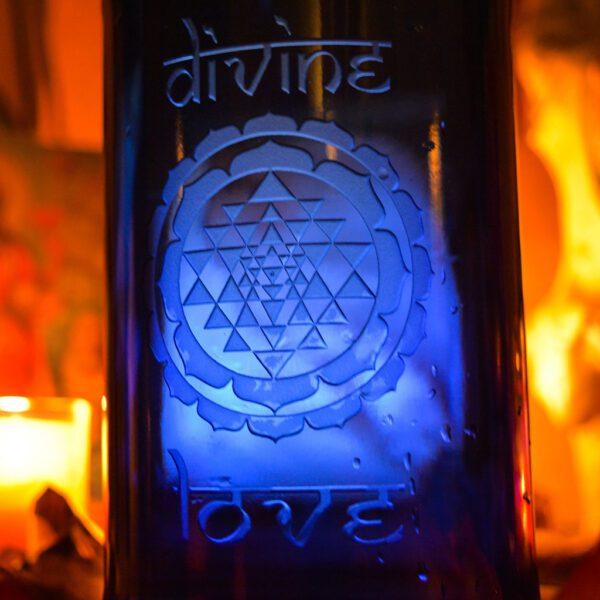 Blue Bottle Love Divine Love