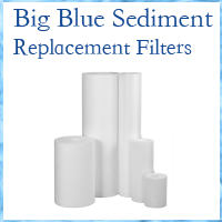 Whole House Sediment Filter 10""