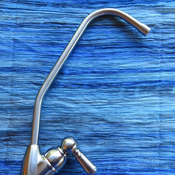 Kitchen Water Filter Brushed Nickel Faucet