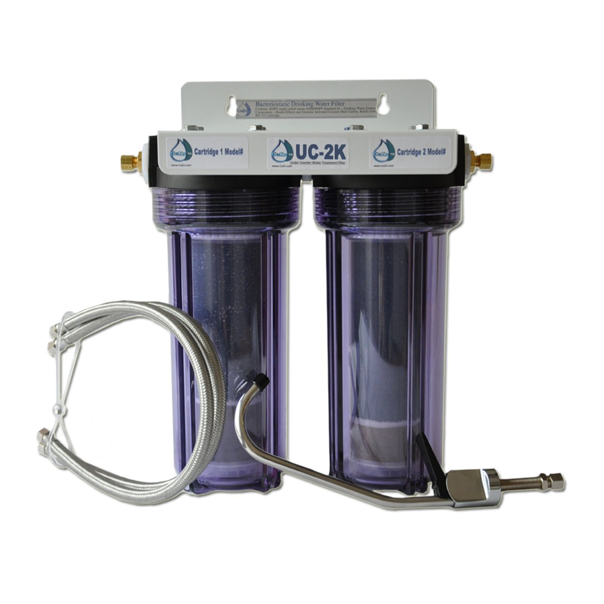 kitchen fluoride water filter chlorine plus undersink - Undersink Water Filter
