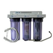 Kitchen FLUORIDE Water Filter: Chlorine, Chloramines, Plus