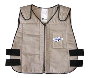 phase cooling vest tan
